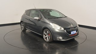 2014 Peugeot 208 A9 MY14 GTi Grey 6 Speed Manual Hatchback.