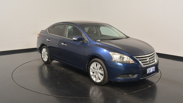 Used Nissan Pulsar B17 TI, 2014 Nissan Pulsar B17 TI Blue 1 Speed Constant Variable Sedan