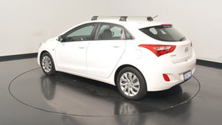 2013 Hyundai i30 GD Active Creamy White 6 Speed Sports Automatic Hatchback.