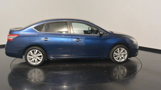 2014 Nissan Pulsar B17 TI Blue 1 Speed Constant Variable Sedan