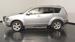 2011 Mitsubishi Outlander ZH MY11 VR Silver 6 Speed Sports Automatic Wagon.