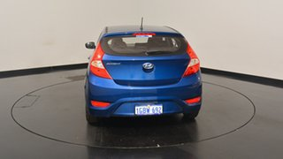 2016 Hyundai Accent RB4 MY17 Active Dazzling Blue 6 Speed Constant Variable Hatchback