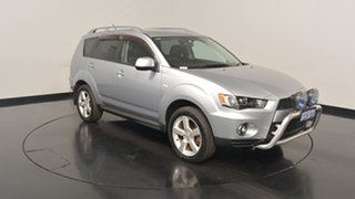 2011 Mitsubishi Outlander ZH MY11 VR Silver 6 Speed Sports Automatic Wagon