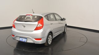2015 Hyundai Accent RB2 MY15 Active Sleek Silver 4 Speed Sports Automatic Hatchback