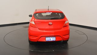 2016 Hyundai Accent RB4 MY16 Active Veloster Red 6 Speed Constant Variable Hatchback