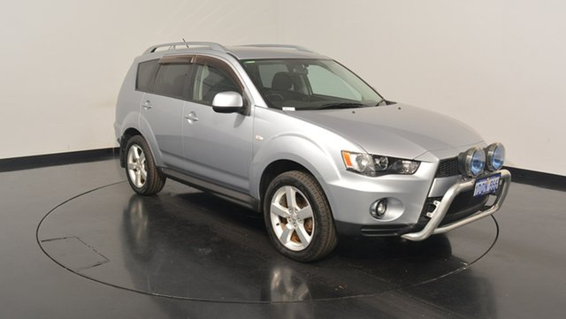 Used Mitsubishi Outlander ZH MY11 VR, 2011 Mitsubishi Outlander ZH MY11 VR Silver 6 Speed Sports Automatic Wagon
