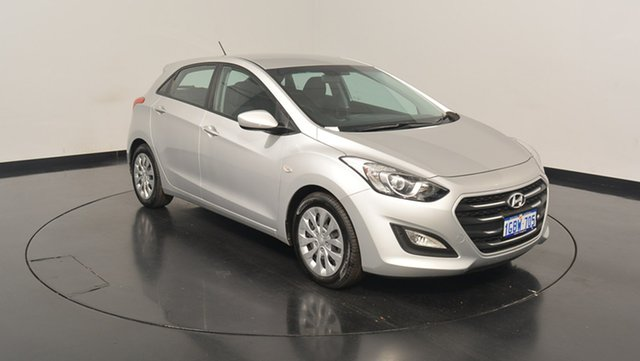 Used Hyundai i30 GD4 Series II MY17 Active, 2016 Hyundai i30 GD4 Series II MY17 Active Platinum Silver Metallic 6 Speed Sports Automatic