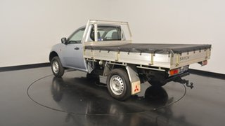 2008 Mitsubishi Triton ML MY09 GL Silver 5 Speed Manual Utility.