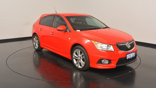 Used Holden Cruze JH Series II MY14 SRi Z Series, 2014 Holden Cruze JH Series II MY14 SRi Z Series Red 6 Speed Sports Automatic Hatchback
