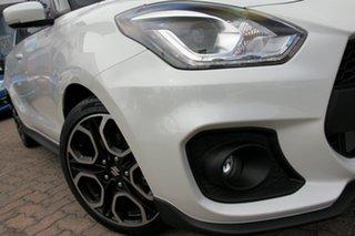 2020 Suzuki Swift AZ Sport Pure White 6 Speed Manual Hatchback.