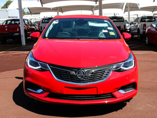 2017 Holden Astra BL MY17 LT Absolute Red 6 Speed Sports Automatic Sedan.