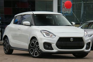 2020 Suzuki Swift AZ Sport Pure White 6 Speed Sports Automatic Hatchback.
