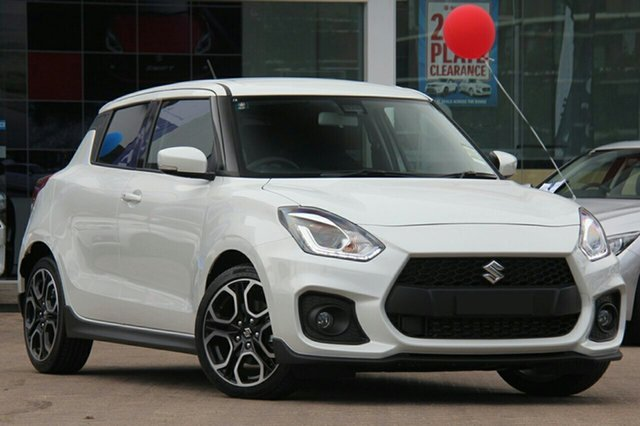 New Suzuki Swift AZ Sport, 2020 Suzuki Swift AZ Sport Pure White 6 Speed Sports Automatic Hatchback