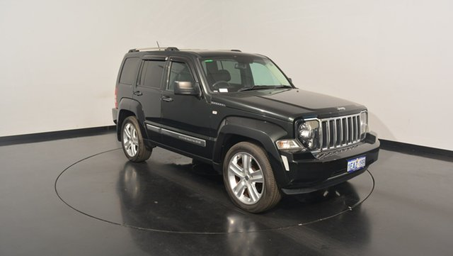Used Jeep Cherokee KK MY12 Limited, 2012 Jeep Cherokee KK MY12 Limited Black 4 Speed Automatic Wagon