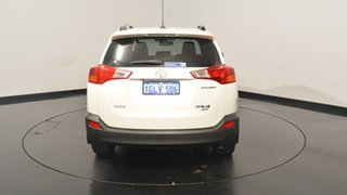 2014 Toyota RAV4 ASA44R MY14 Cruiser AWD White 6 Speed Sports Automatic Wagon