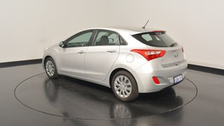 2016 Hyundai i30 GD4 Series II MY17 Active Platinum Silver Metallic 6 Speed Sports Automatic.