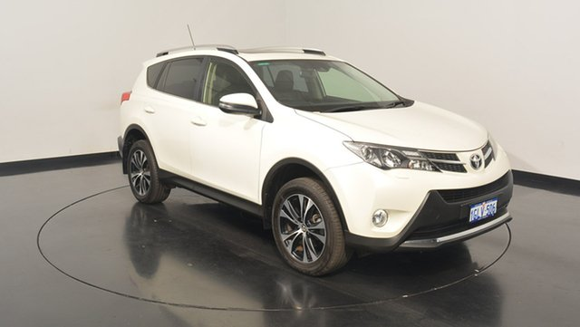 Used Toyota RAV4 ASA44R MY14 Cruiser AWD, 2014 Toyota RAV4 ASA44R MY14 Cruiser AWD White 6 Speed Sports Automatic Wagon