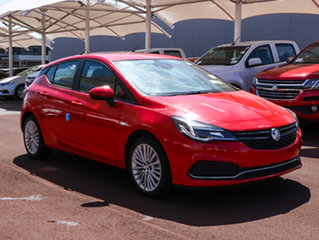 2017 Holden Astra BK MY17 R+ Absolute Red 6 Speed Sports Automatic Hatchback.