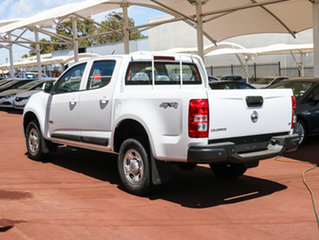 2017 Holden Colorado RG MY18 LS Pickup Crew Cab Summit White 6 Speed Sports Automatic Utility