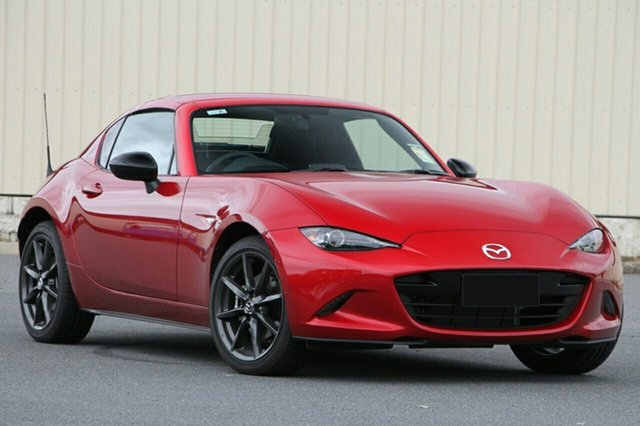 New Mazda MX-5 ND RF SKYACTIV-MT Hillcrest, 2020 Mazda MX-5 ND RF SKYACTIV-MT Soul Red Crystal 6 Speed Manual Targa