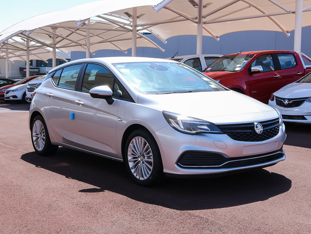 Used Holden Astra BK MY17 R+, 2017 Holden Astra BK MY17 R+ Nitrate 6 Speed Sports Automatic Hatchback