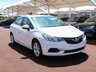 2017 Holden Astra BL MY17 LS Summit White 6 Speed Sports Automatic Sedan.
