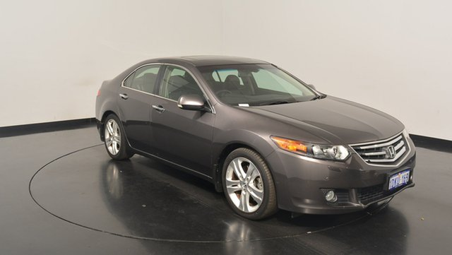 Used Honda Accord Euro CU MY11 Luxury, 2010 Honda Accord Euro CU MY11 Luxury Grey 5 Speed Automatic Sedan