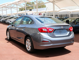 2017 Holden Astra BL MY17 LS Satin Steel Grey 6 Speed Sports Automatic Sedan