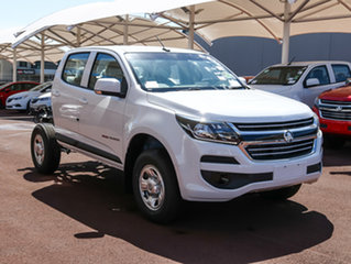 2017 Holden Colorado RG MY18 LS Pickup Crew Cab Summit White 6 Speed Sports Automatic Utility.