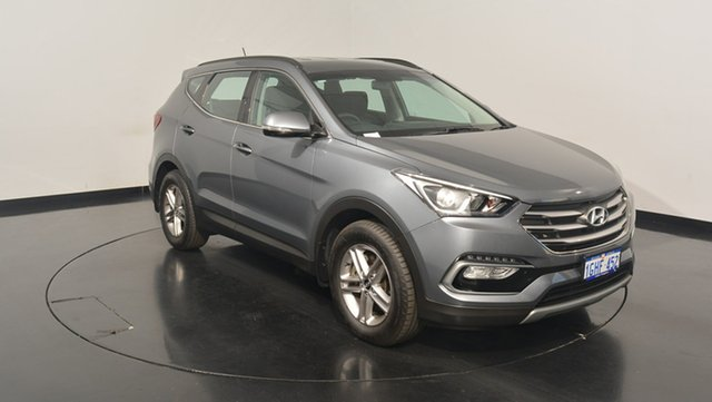 Used Hyundai Santa Fe DM3 MY17 Active, 2017 Hyundai Santa Fe DM3 MY17 Active Titanium Silver 6 Speed Sports Automatic Wagon