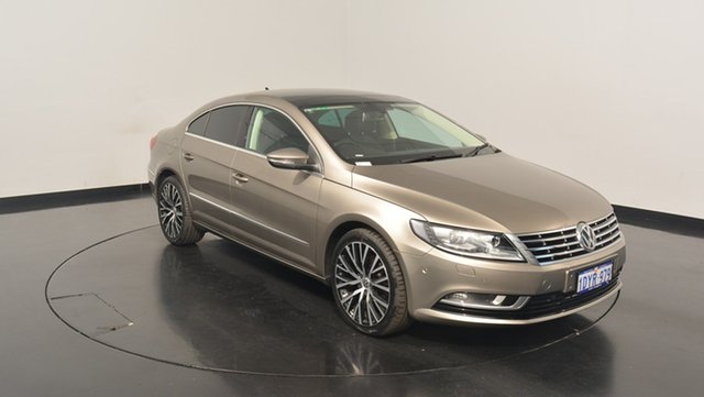 Used Volkswagen CC Type 3CC MY12.5 125TDI DSG, 2012 Volkswagen CC Type 3CC MY12.5 125TDI DSG Brown 6 Speed Sports Automatic Dual Clutch Coupe