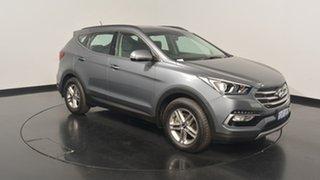 2017 Hyundai Santa Fe DM3 MY17 Active Titanium Silver 6 Speed Sports Automatic Wagon