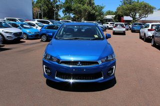 2017 Mitsubishi Lancer CF MY17 ES Sport Lightning Blue 6 Speed Constant Variable Sedan.