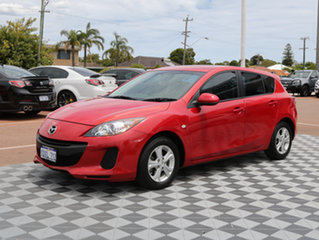 2012 Mazda 3 BL10F2 MY13 Neo Activematic Red 5 Speed Sports Automatic Hatchback.