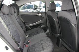 2017 Hyundai Accent RB6 MY18 Sport Chalk White 6 Speed Manual Sedan