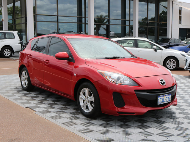 Used Mazda 3 BL10F2 MY13 Neo Activematic, 2012 Mazda 3 BL10F2 MY13 Neo Activematic Red 5 Speed Sports Automatic Hatchback