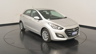 2017 Hyundai i30 GD4 Series II MY17 Active Platinum Silver Metallic 6 Speed Sports Automatic.