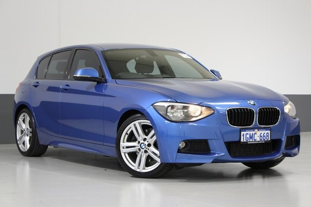 Used BMW 125i F20 , 2012 BMW 125i F20 Blue 8 Speed Automatic Hatchback