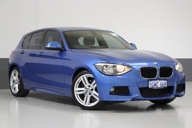 Used BMW 125I F20 , 2012 BMW 125I F20 Blue 8 Speed Automatic Hatchback