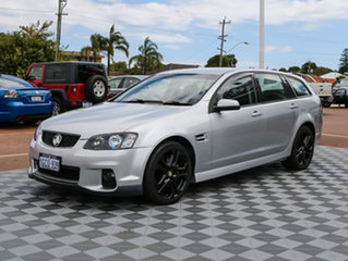 2012 Holden Commodore VE II MY12 SS Sportwagon Silver 6 Speed Sports Automatic Wagon.