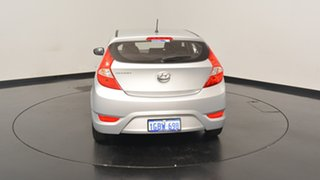 2016 Hyundai Accent RB3 MY16 Active Sleek Silver 6 Speed Constant Variable Hatchback