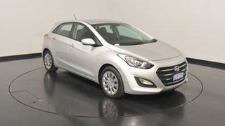 2017 Hyundai i30 GD4 Series II MY17 Active Platinum Silver Metallic 6 Speed Sports Automatic