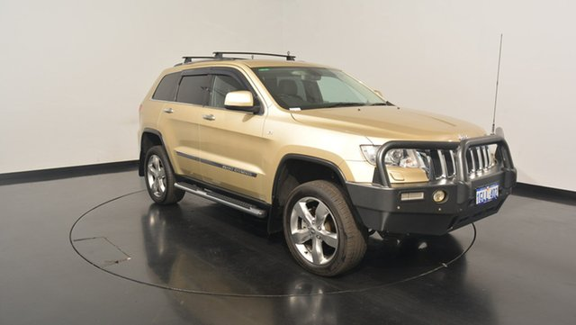 Used Jeep Grand Cherokee WK MY2011 Limited, 2011 Jeep Grand Cherokee WK MY2011 Limited Cashmere Pearl 5 Speed Sports Automatic Wagon