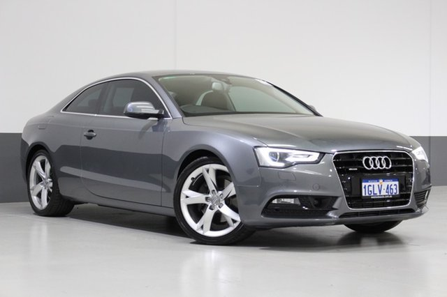 Used Audi A5 8T MY13 2.0 TFSI Quattro, 2013 Audi A5 8T MY13 2.0 TFSI Quattro Grey 7 Speed Auto Direct Shift Coupe