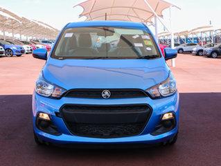 2017 Holden Spark MP MY18 LS Splash Blue 1 Speed Constant Variable Hatchback.