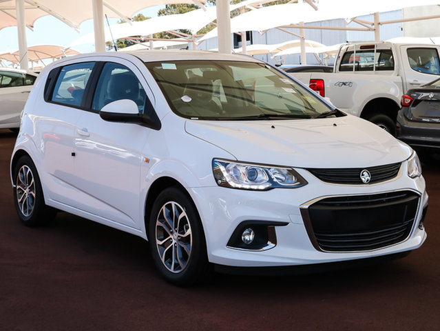Used Holden Barina TM MY18 LS, 2017 Holden Barina TM MY18 LS Summit White 6 Speed Automatic Hatchback
