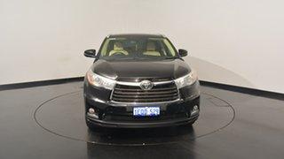 2014 Toyota Kluger GSU50R Grande 2WD Black 6 Speed Sports Automatic Wagon