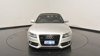 2012 Audi A5 8T MY12 S tronic quattro Silver 7 Speed Sports Automatic Dual Clutch Cabriolet
