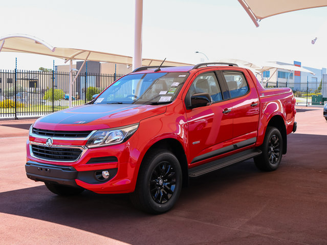 Used Holden Colorado RG MY18 Z71 Pickup Crew Cab, 2017 Holden Colorado RG MY18 Z71 Pickup Crew Cab Absolute Red 6 Speed Sports Automatic Utility