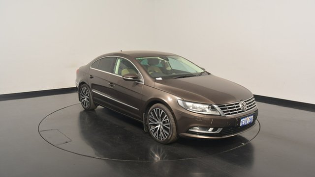 Used Volkswagen CC Type 3CC MY15 130TDI DSG, 2015 Volkswagen CC Type 3CC MY15 130TDI DSG Black 6 Speed Sports Automatic Dual Clutch Coupe